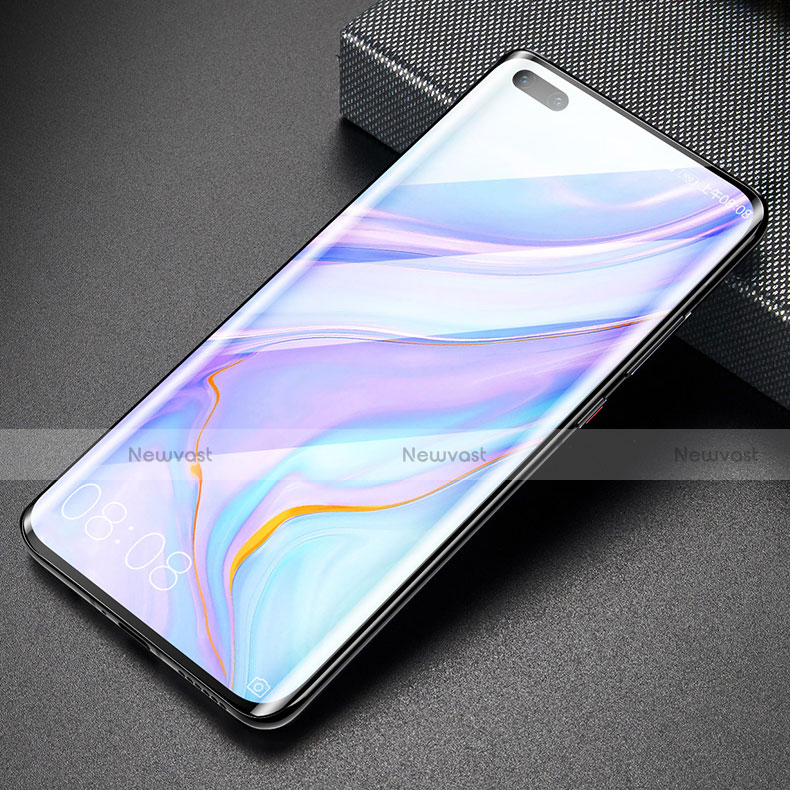 Ultra Clear Full Screen Protector Tempered Glass for Huawei Mate 40 Pro+ Plus Black