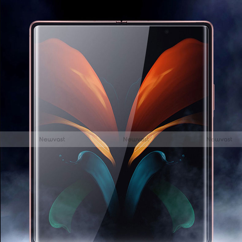 Ultra Clear Screen Protector Front and Back Film for Samsung Galaxy Z Fold2 5G Clear