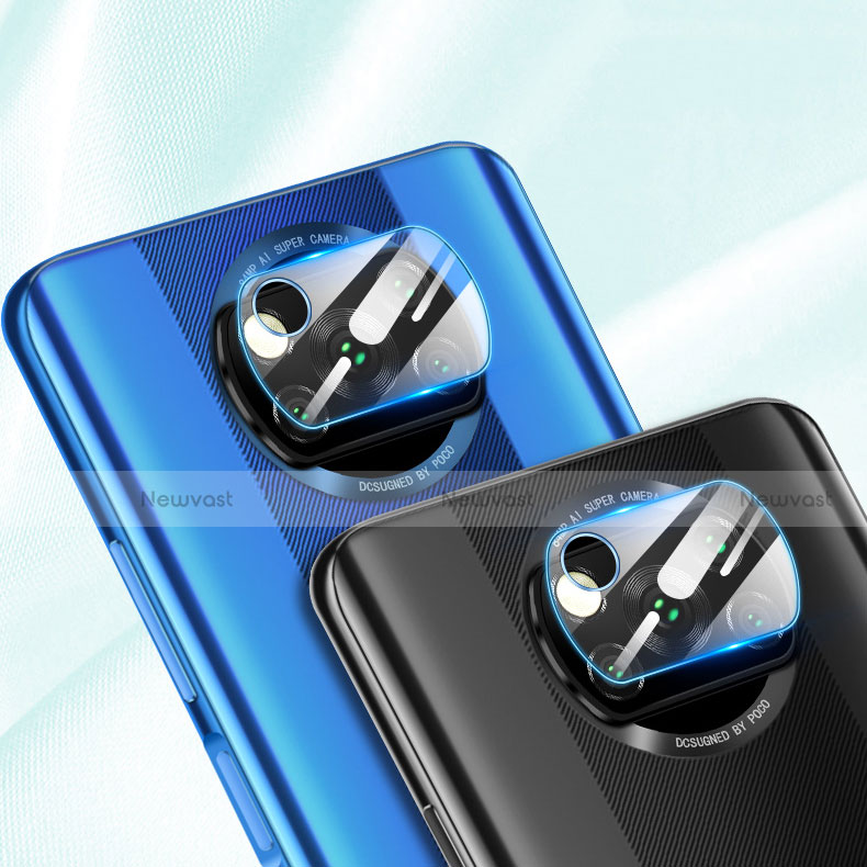 Ultra Clear Tempered Glass Camera Lens Protector for Xiaomi Poco X3 NFC Clear