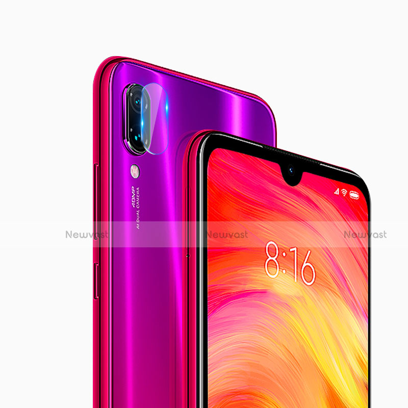 Ultra Clear Tempered Glass Camera Lens Protector for Xiaomi Redmi Note 8 Clear