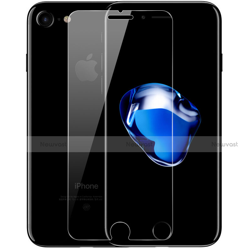 Ultra Clear Tempered Glass Screen Protector Film F06 for Apple iPhone SE (2020) Clear