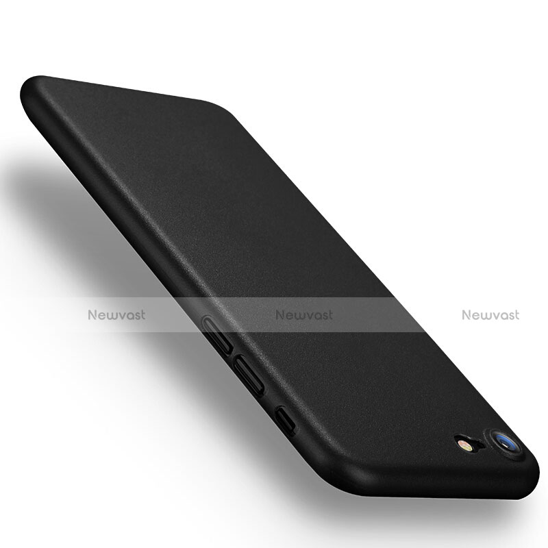 Ultra-thin Plastic Matte Finish Case for Apple iPhone SE (2020) Black