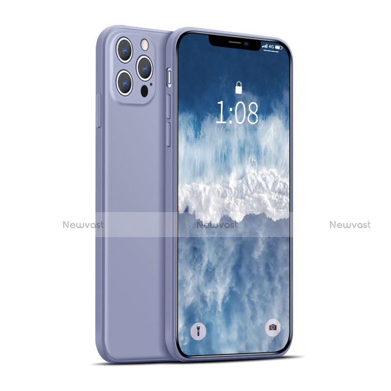 Ultra-thin Silicone Gel Soft Case 360 Degrees Cover for Apple iPhone 12 Pro