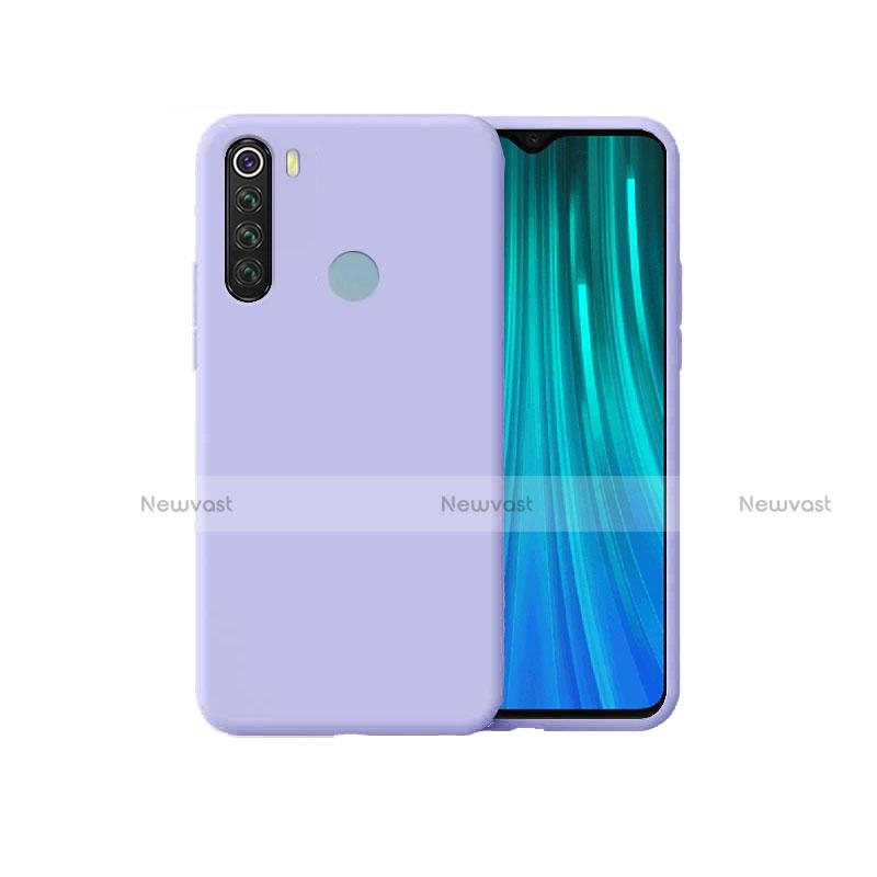 Ultra-thin Silicone Gel Soft Case 360 Degrees Cover for Xiaomi Redmi Note 8 Purple