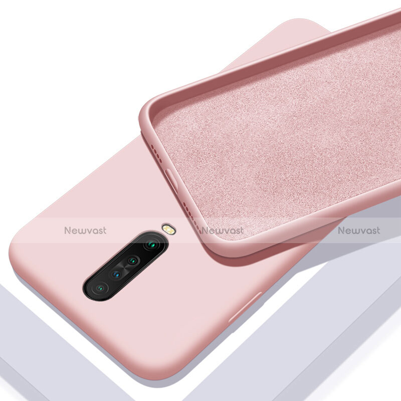 Ultra-thin Silicone Gel Soft Case 360 Degrees Cover S01 for Xiaomi Redmi K30 5G Pink