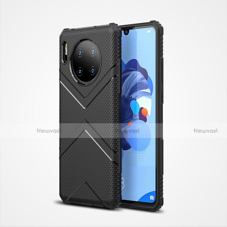 Ultra-thin Silicone Gel Soft Case 360 Degrees Cover S02 for Huawei Mate 30 Pro 5G