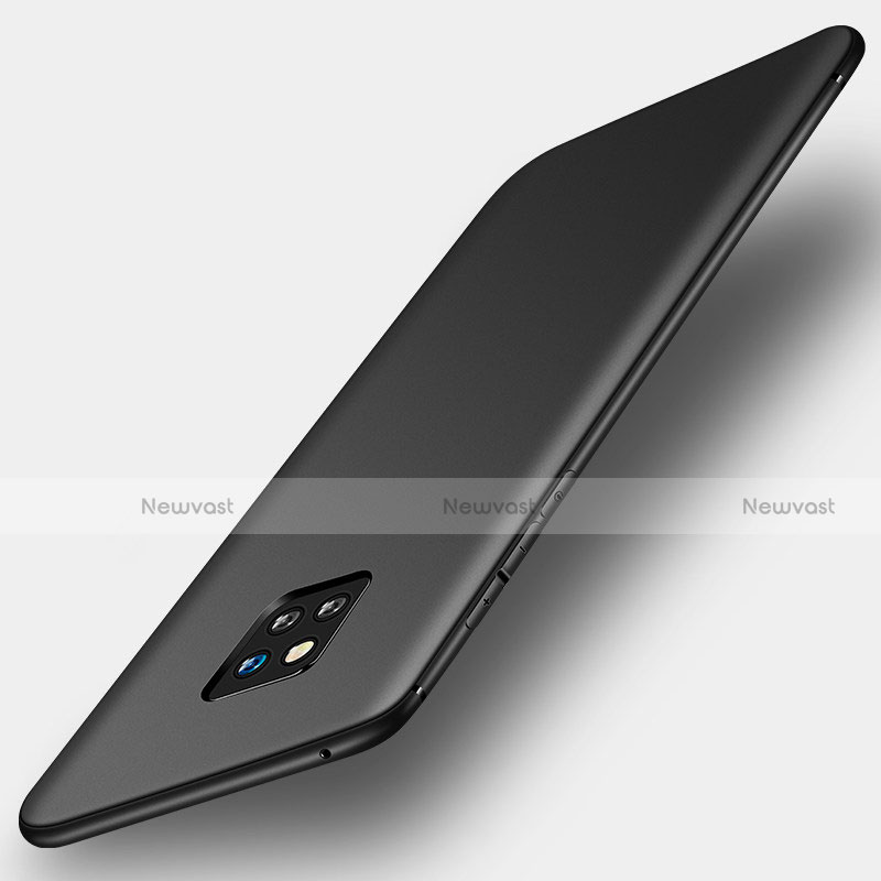 Ultra-thin Silicone Gel Soft Case S01 for Huawei Mate 20 Pro Black