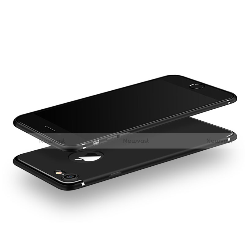 Ultra-thin Silicone Gel Soft Case S02 for Apple iPhone SE (2020) Black