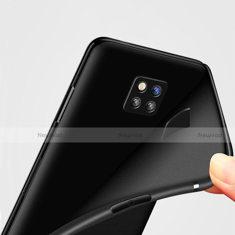 Ultra-thin Silicone Gel Soft Case S02 for Huawei Mate 20 Pro Black