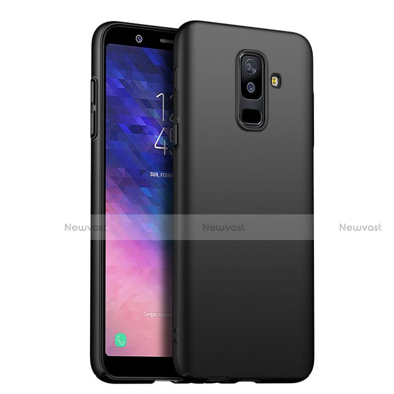 Ultra-thin Silicone Gel Soft Case S02 for Samsung Galaxy A6 Plus Black