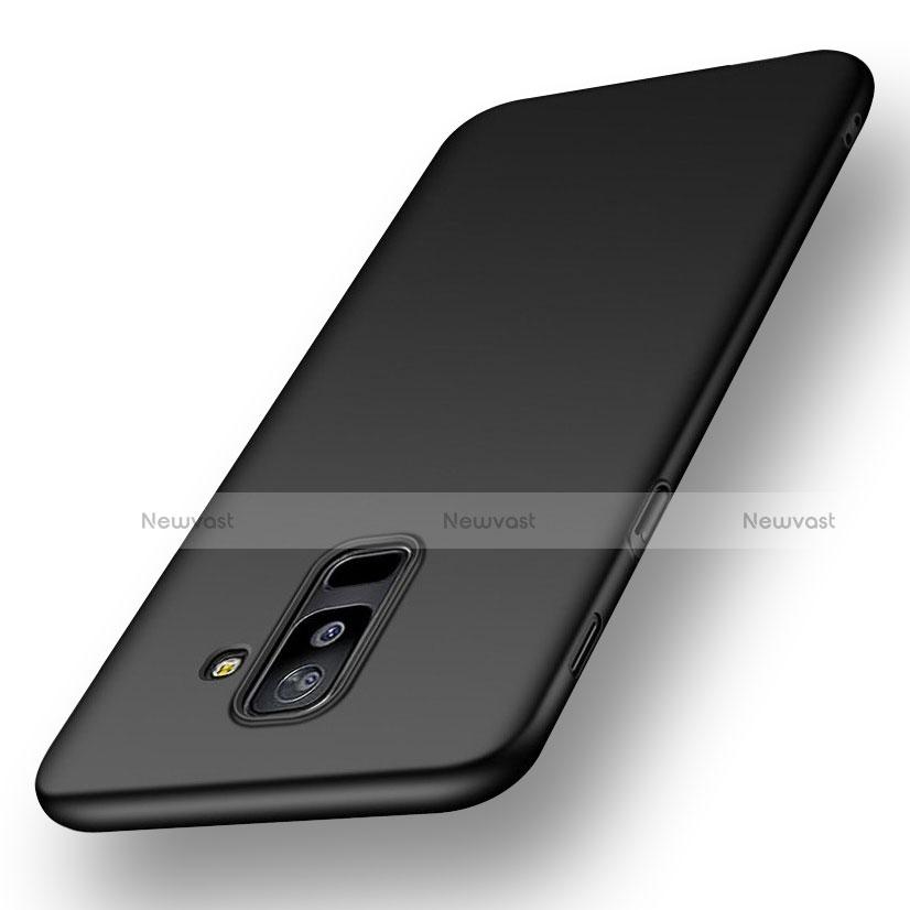 Ultra-thin Silicone Gel Soft Case S02 for Samsung Galaxy A9 Star Lite Black