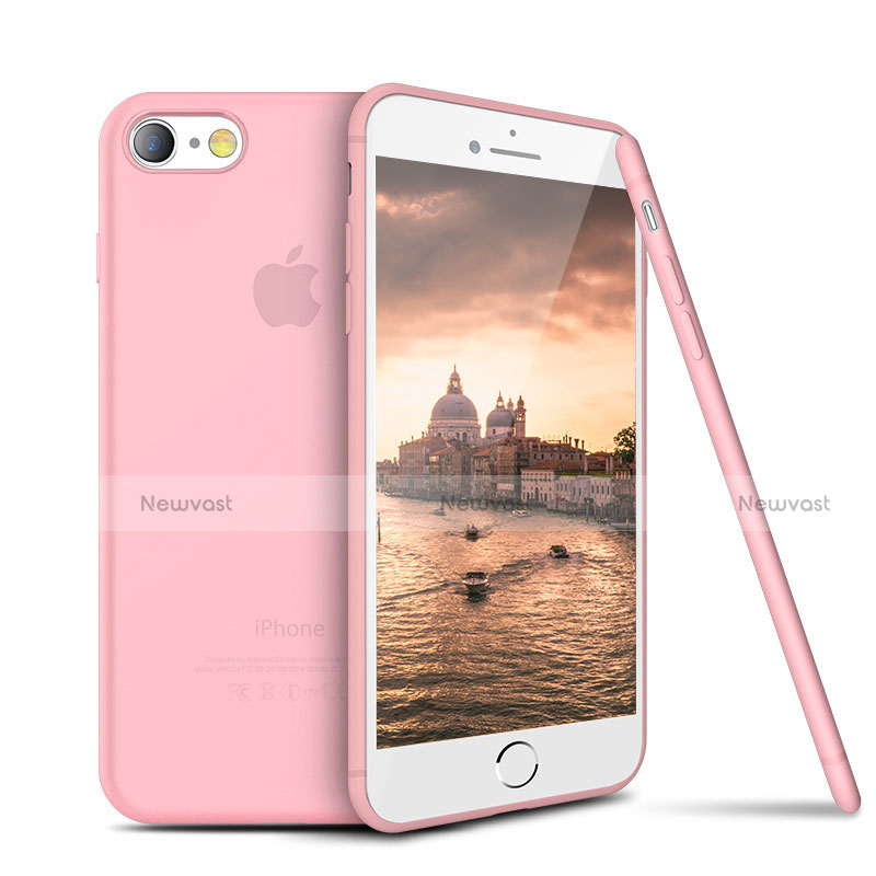 Ultra-thin Silicone Gel Soft Case S03 for Apple iPhone SE (2020) Pink