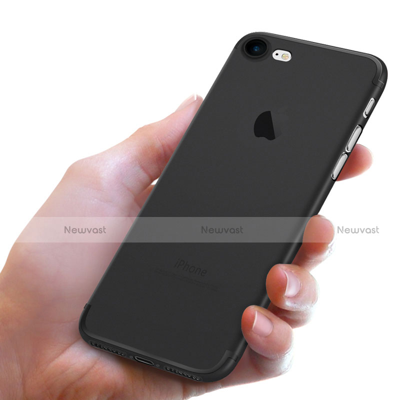 Ultra-thin Silicone Gel Soft Case S05 for Apple iPhone SE (2020) Black