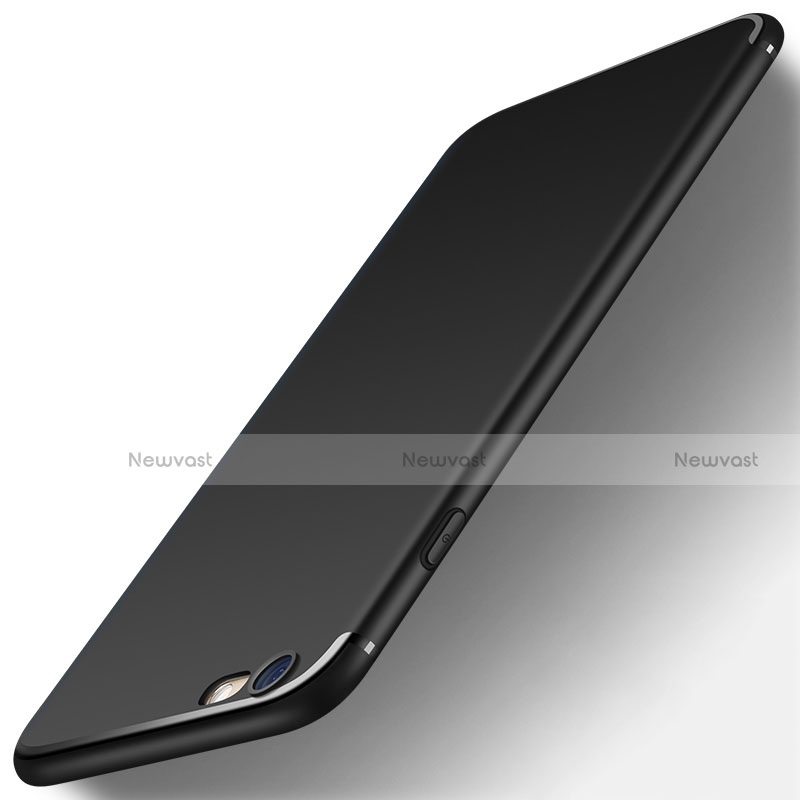 Ultra-thin Silicone Gel Soft Case S06 for Apple iPhone SE (2020) Black