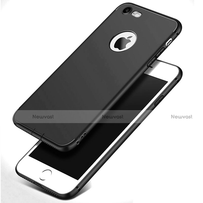 Ultra-thin Silicone Gel Soft Case S07 for Apple iPhone SE (2020) Black