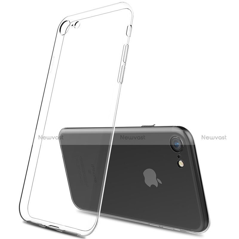 Ultra-thin Transparent Gel Soft Case T01 for Apple iPhone SE (2020) Clear