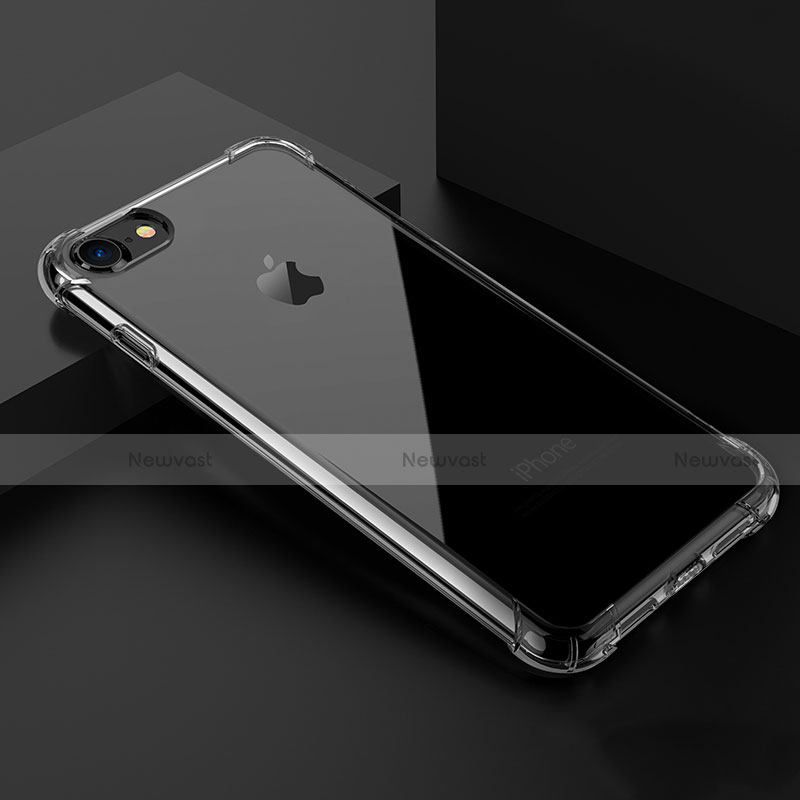 Ultra-thin Transparent Gel Soft Case T02 for Apple iPhone SE (2020) Clear