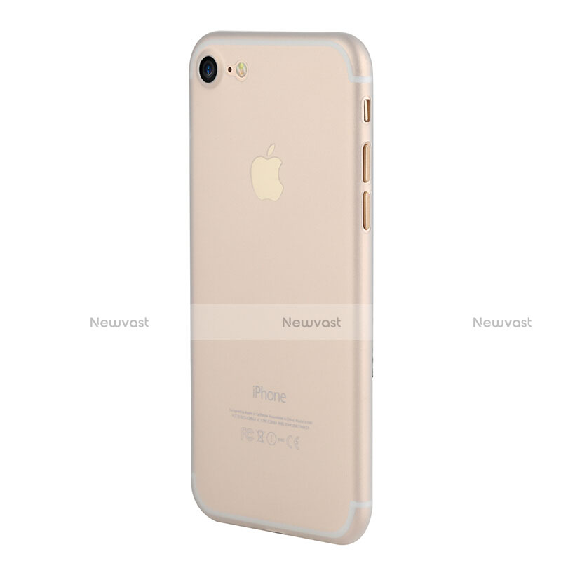 Ultra-thin Transparent Matte Finish Case for Apple iPhone SE (2020) Clear