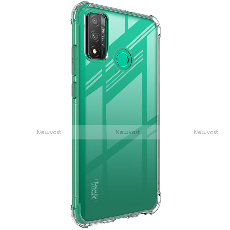 Ultra-thin Transparent TPU Soft Case Cover for Huawei P Smart (2020) Clear