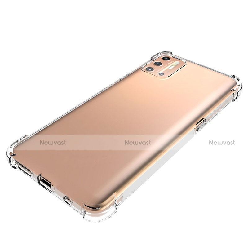 Ultra-thin Transparent TPU Soft Case Cover for Motorola Moto G9 Plus Clear