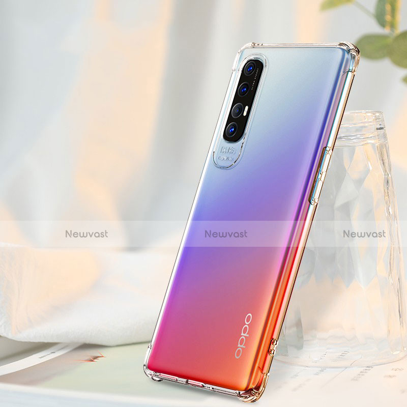 Ultra-thin Transparent TPU Soft Case Cover for Oppo Find X2 Neo Clear