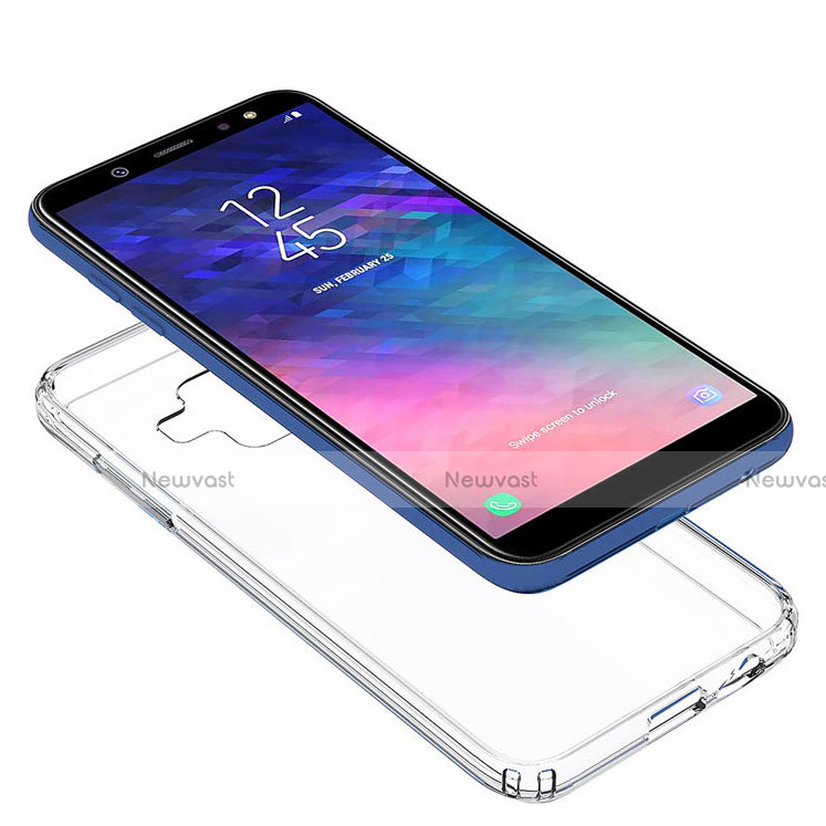Ultra-thin Transparent TPU Soft Case Cover for Samsung Galaxy A6 (2018) Dual SIM Clear