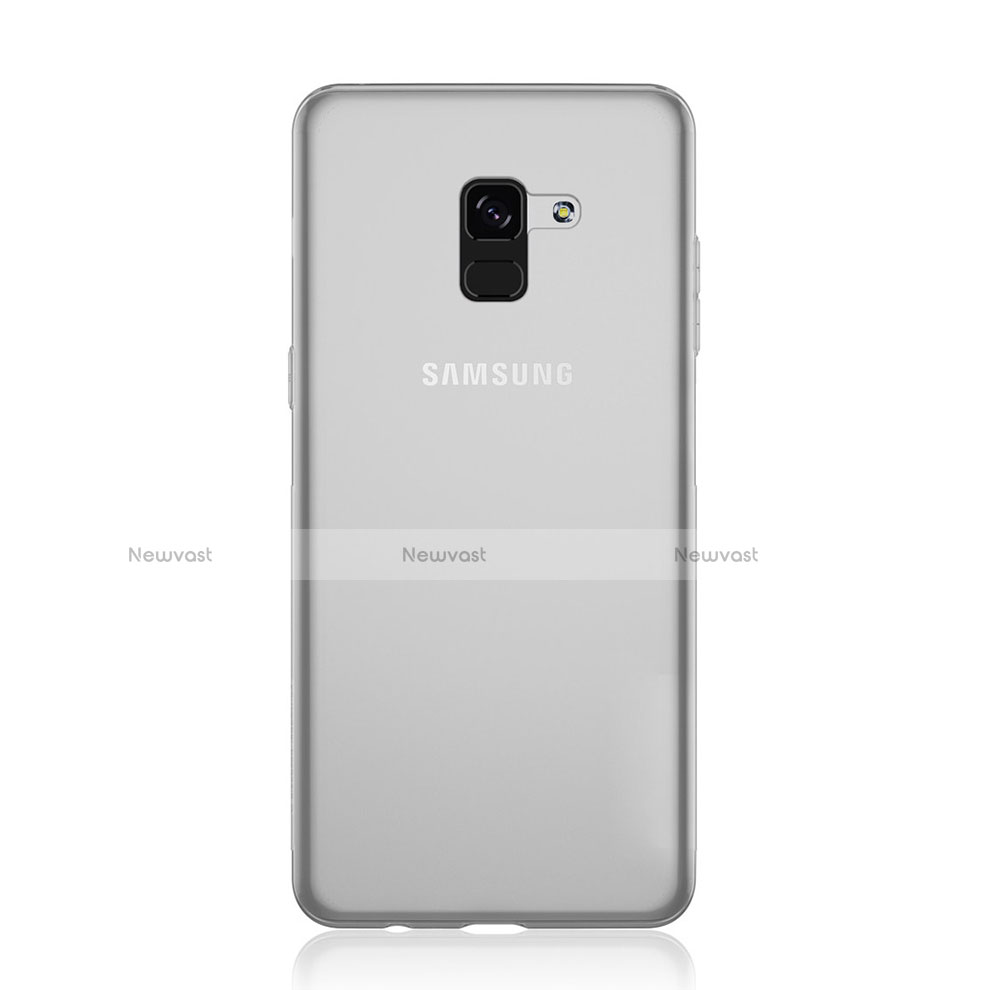 Ultra-thin Transparent TPU Soft Case Cover for Samsung Galaxy A8 (2018) A530F Clear