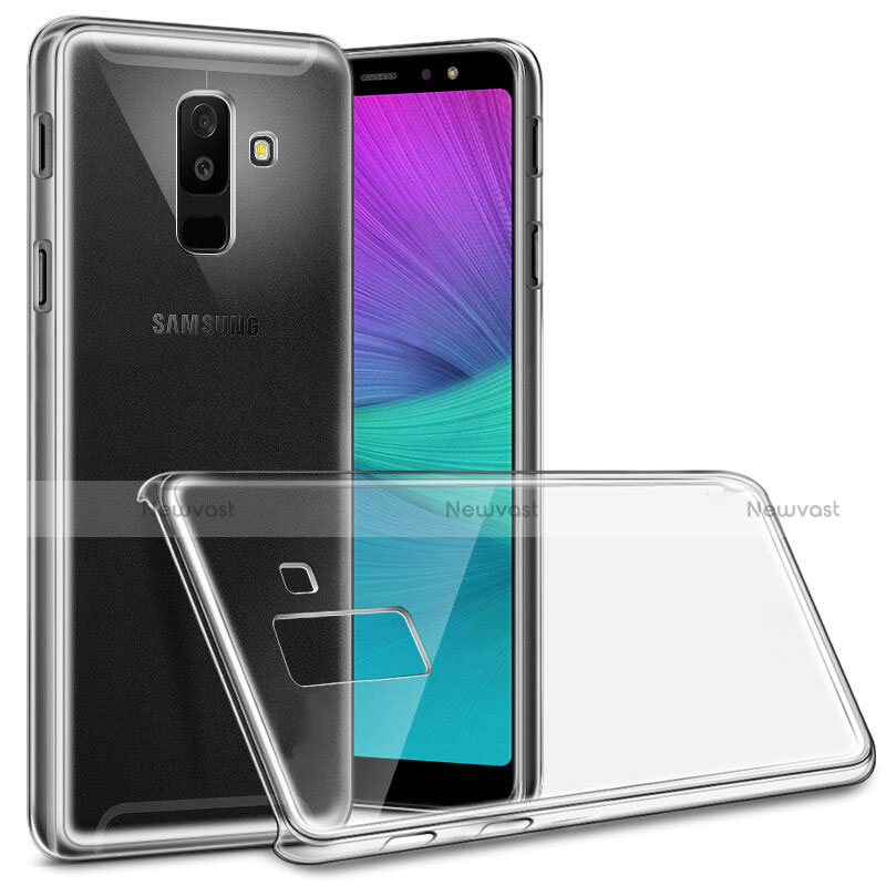 Ultra-thin Transparent TPU Soft Case Cover for Samsung Galaxy A9 Star Lite Clear