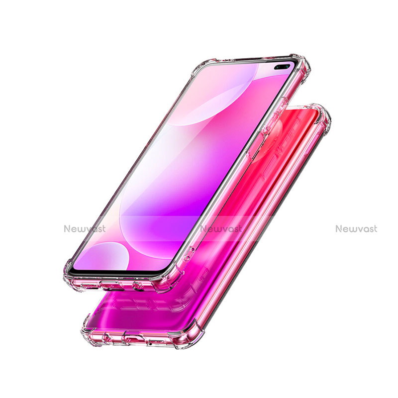 Ultra-thin Transparent TPU Soft Case Cover for Xiaomi Redmi K30 5G Clear