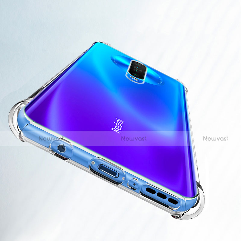 Ultra-thin Transparent TPU Soft Case Cover for Xiaomi Redmi K30 5G Clear