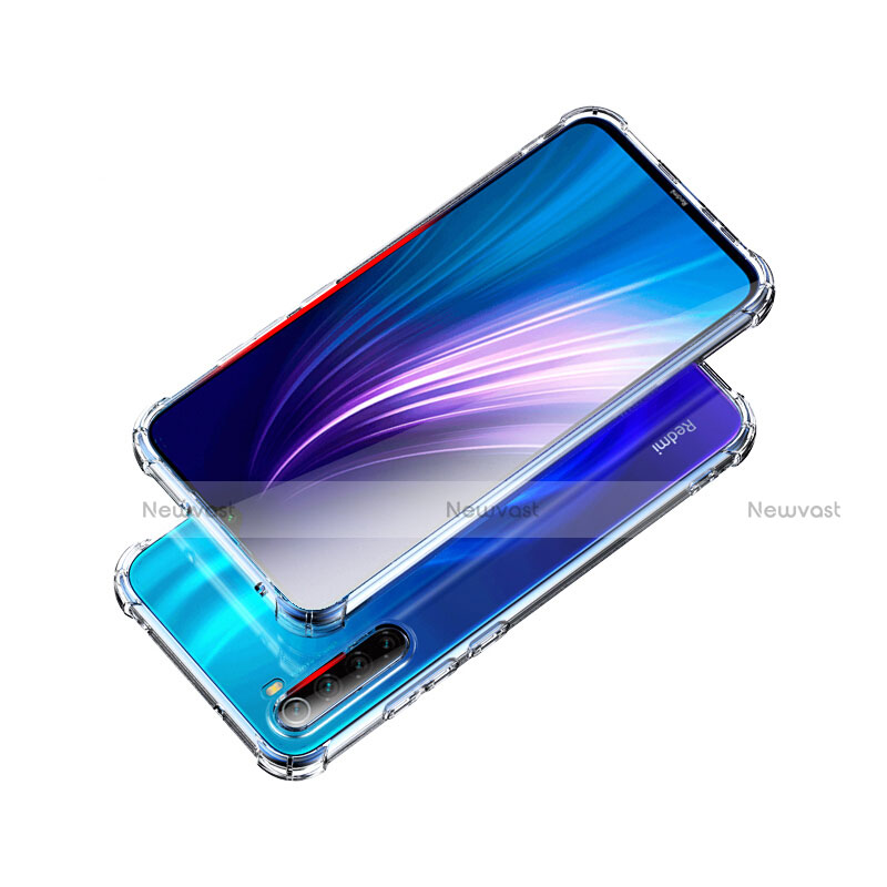 Ultra-thin Transparent TPU Soft Case Cover for Xiaomi Redmi Note 8 Clear