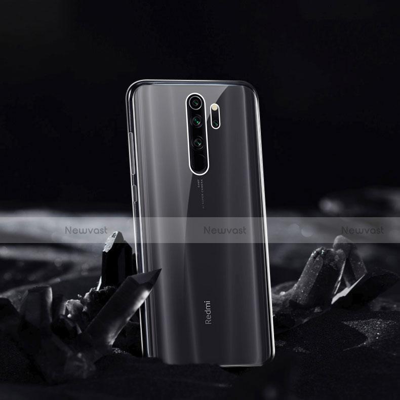 Ultra-thin Transparent TPU Soft Case Cover for Xiaomi Redmi Note 8 Pro Clear