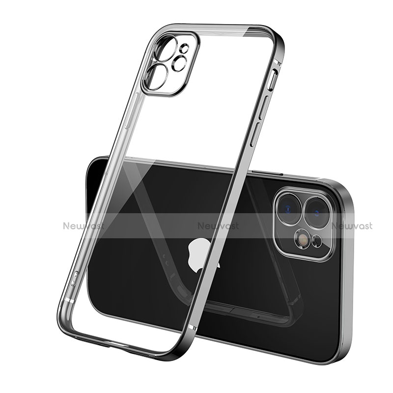Ultra-thin Transparent TPU Soft Case Cover H01 for Apple iPhone 12