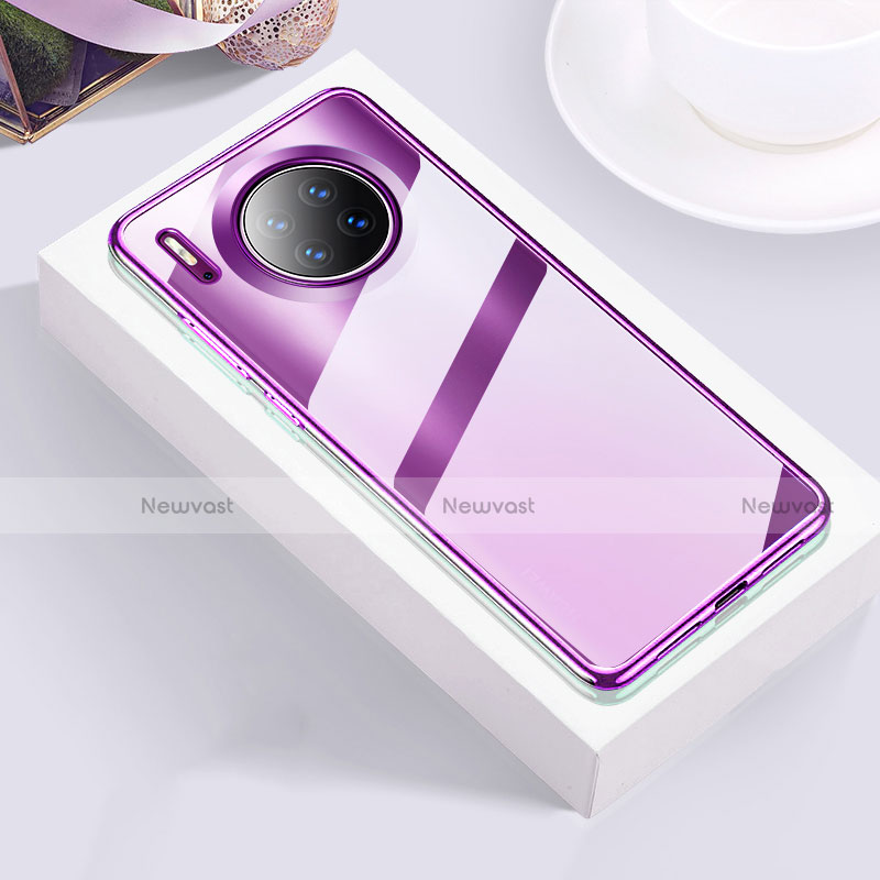 Ultra-thin Transparent TPU Soft Case Cover H01 for Huawei Mate 30 Pro 5G
