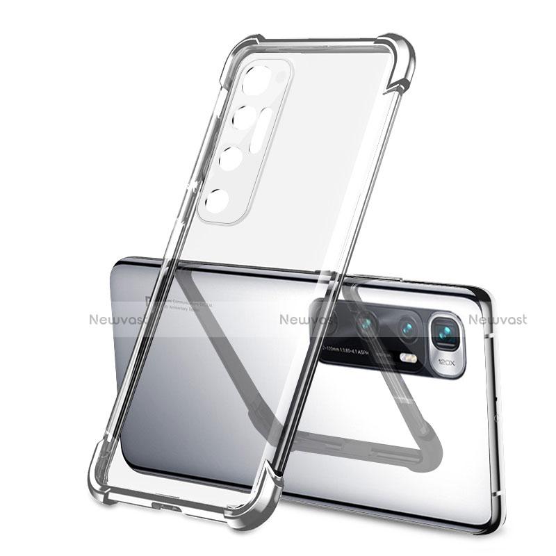 Ultra-thin Transparent TPU Soft Case Cover H01 for Xiaomi Mi 10 Ultra