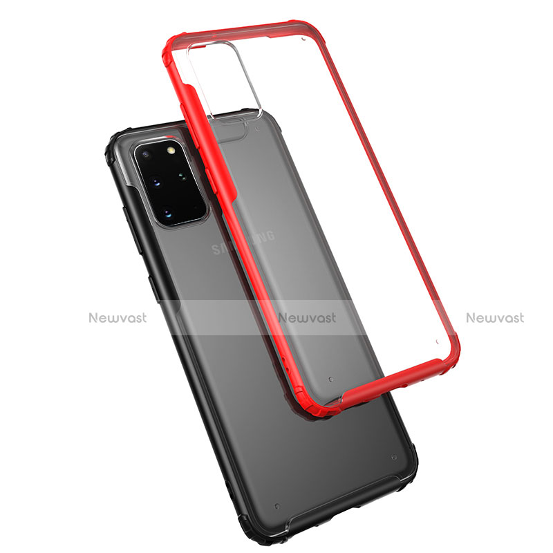 Ultra-thin Transparent TPU Soft Case Cover H02 for Samsung Galaxy S20 Plus 5G