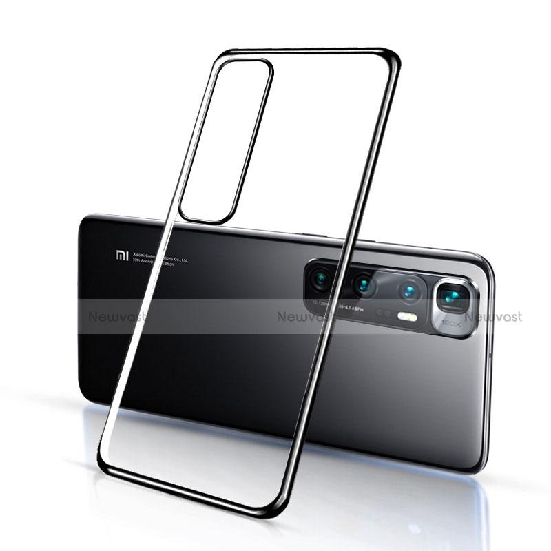 Ultra-thin Transparent TPU Soft Case Cover H03 for Xiaomi Mi 10 Ultra