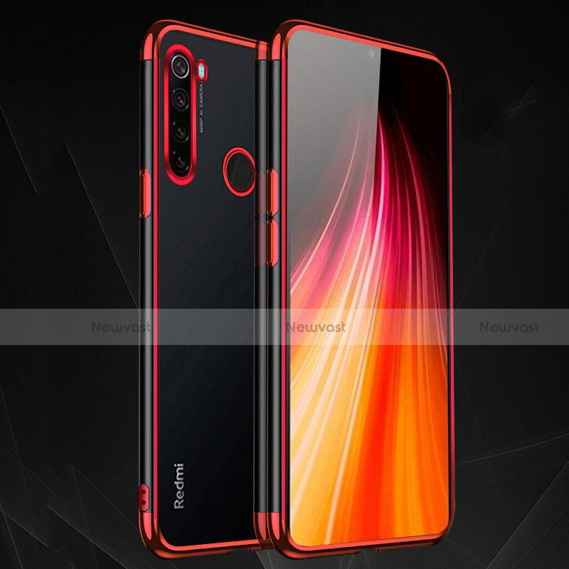 Ultra-thin Transparent TPU Soft Case Cover H03 for Xiaomi Redmi Note 8