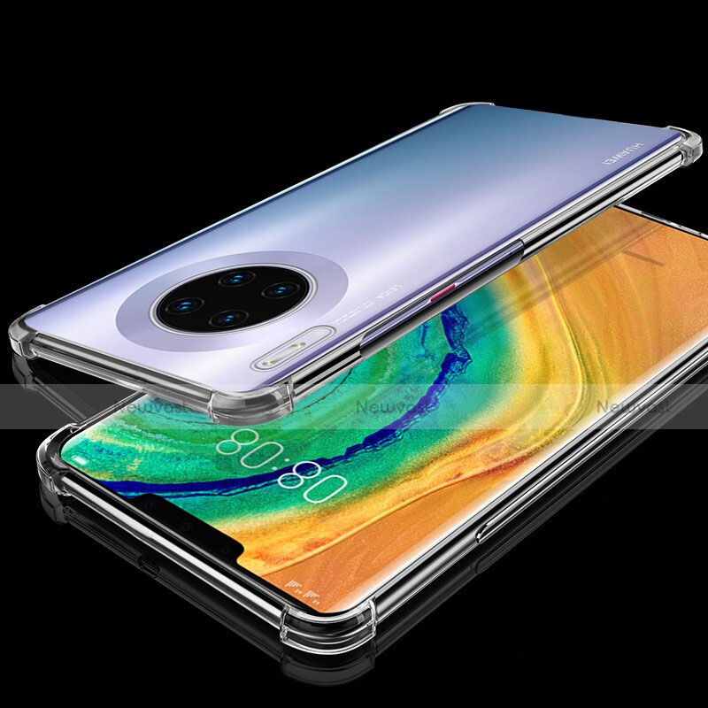 Ultra-thin Transparent TPU Soft Case Cover H04 for Huawei Mate 30 Pro 5G