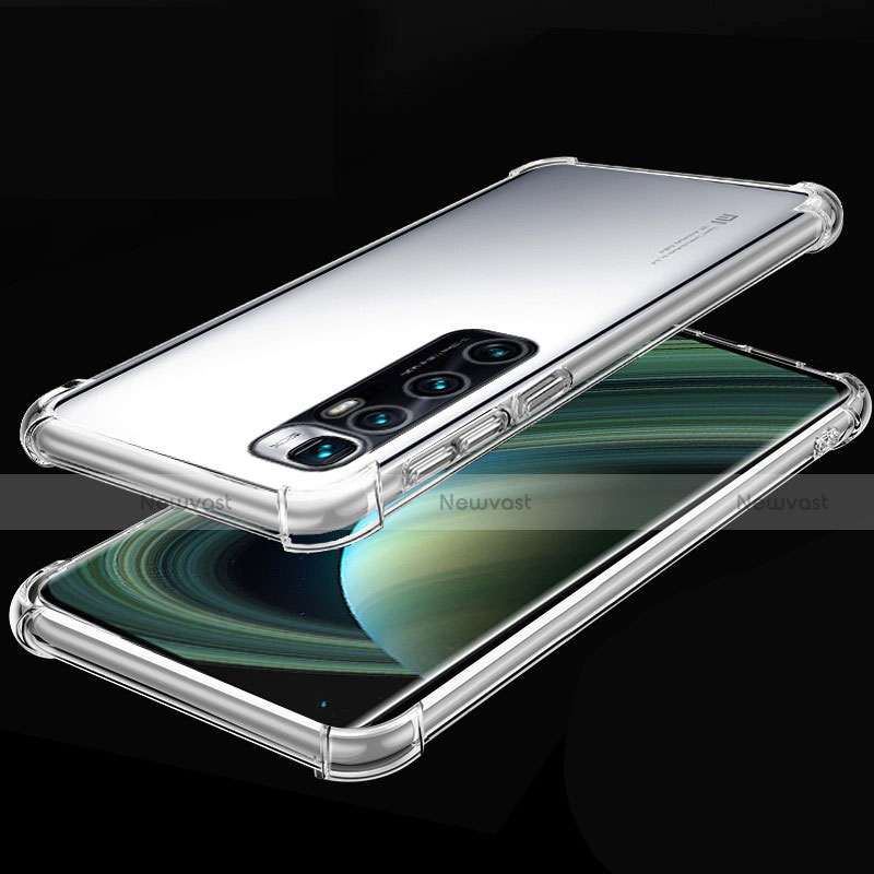 Ultra-thin Transparent TPU Soft Case Cover H04 for Xiaomi Mi 10 Ultra Clear