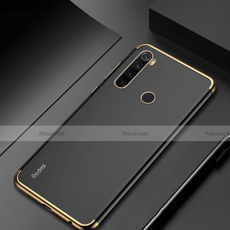 Ultra-thin Transparent TPU Soft Case Cover H04 for Xiaomi Redmi Note 8 Gold