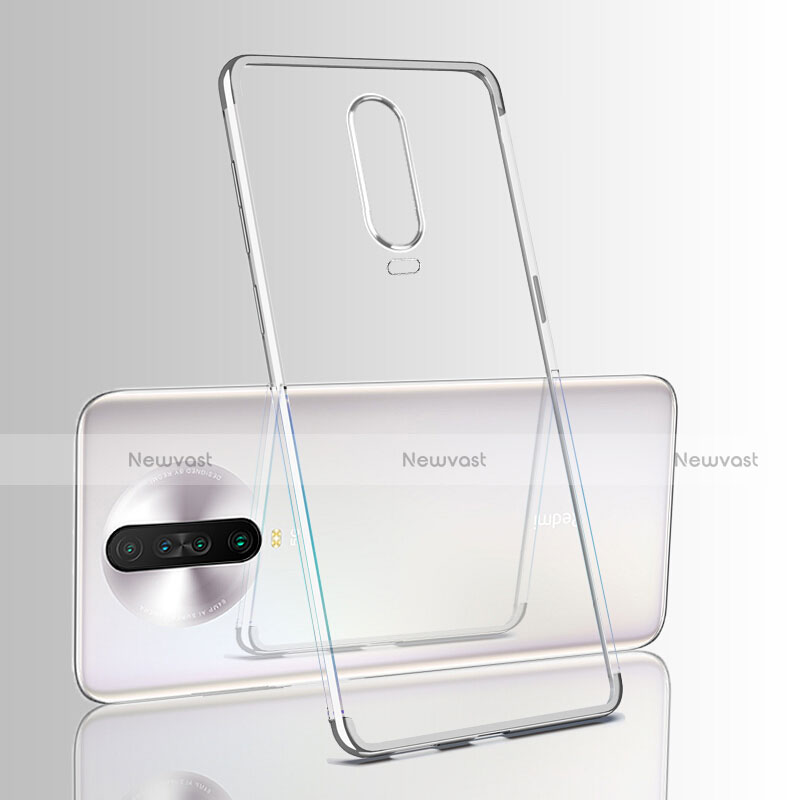 Ultra-thin Transparent TPU Soft Case Cover H05 for Xiaomi Redmi K30 5G White