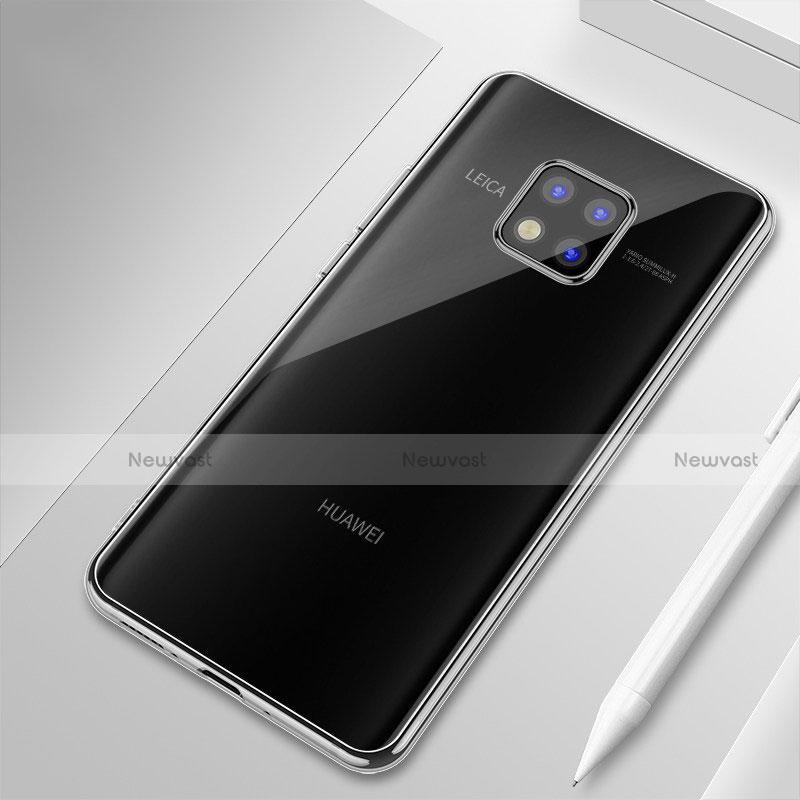 Ultra-thin Transparent TPU Soft Case H01 for Huawei Mate 20 Pro Clear