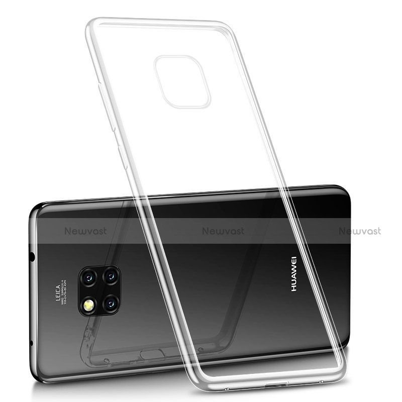 Ultra-thin Transparent TPU Soft Case H02 for Huawei Mate 20 Pro Clear