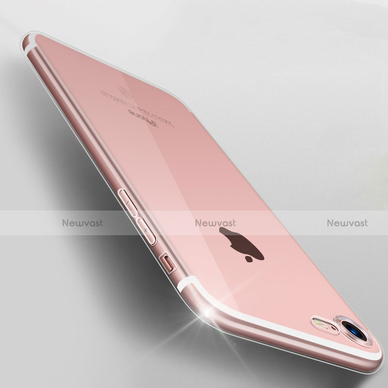Ultra-thin Transparent TPU Soft Case H06 for Apple iPhone SE (2020) Clear