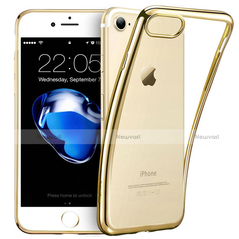 Ultra-thin Transparent TPU Soft Case H07 for Apple iPhone SE (2020) Clear