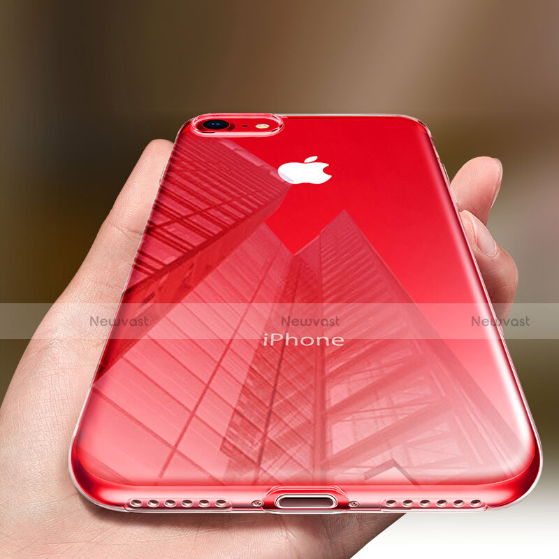 Ultra-thin Transparent TPU Soft Case H09 for Apple iPhone SE (2020) Clear