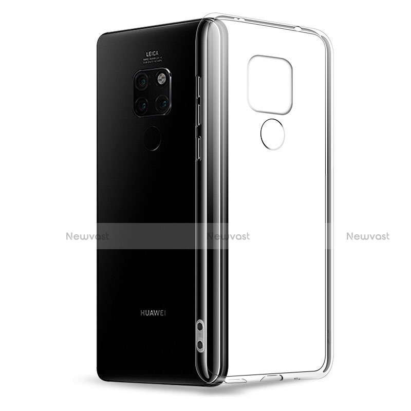 Ultra-thin Transparent TPU Soft Case T02 for Huawei Mate 20 Pro Clear