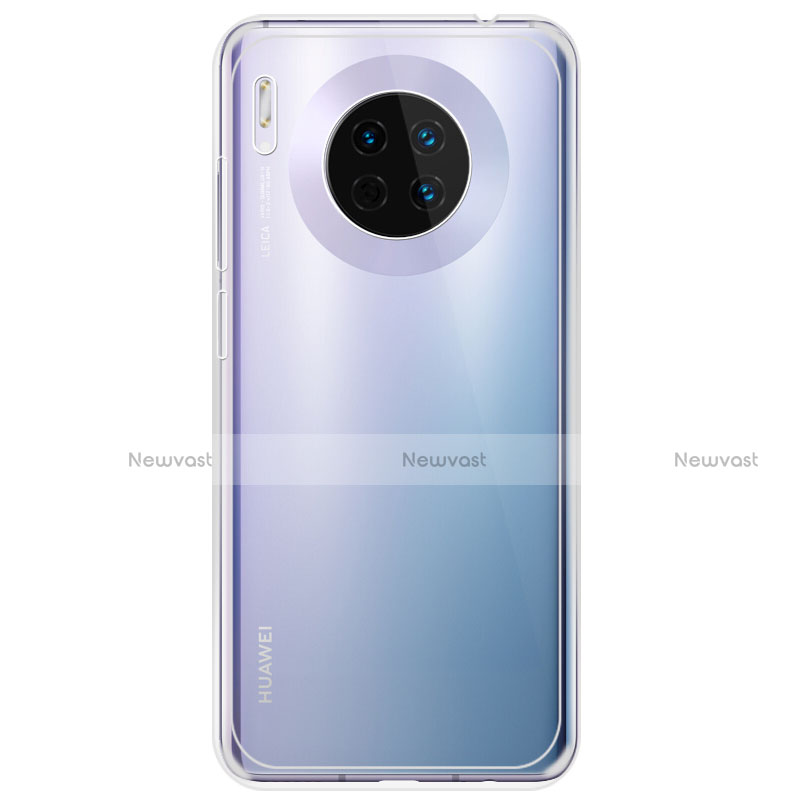 Ultra-thin Transparent TPU Soft Case T02 for Huawei Mate 30 Pro 5G Clear