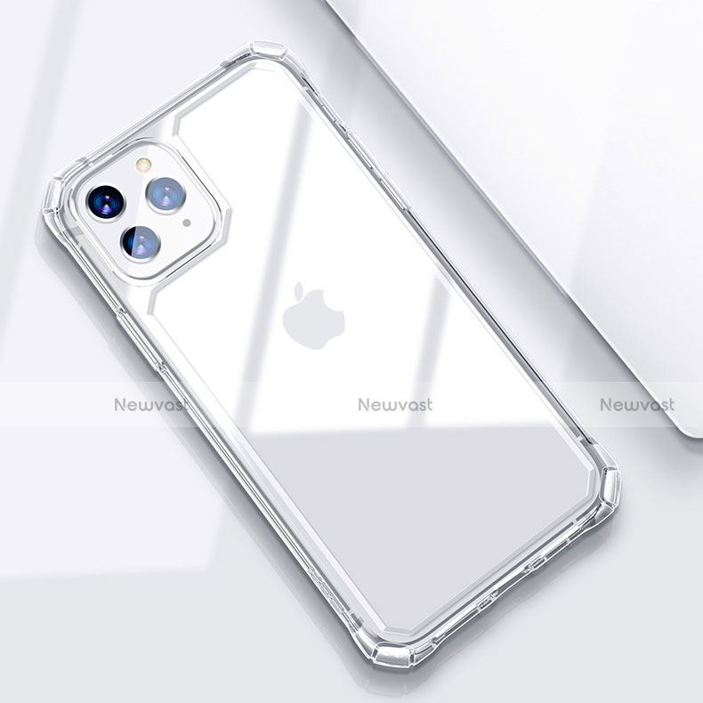 Ultra-thin Transparent TPU Soft Case T03 for Apple iPhone 11 Pro Clear